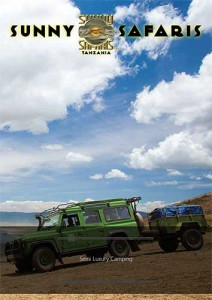 Trails mobile camping brochure - camping in Tanzania with Sunny Safaris