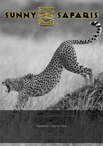 Adventure camping brochure - camping in Tanzania with Sunny Safaris