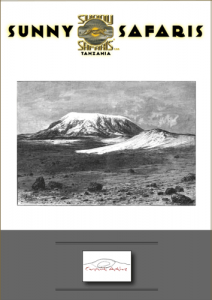 mountain-trekking-brochure cover for Sunny Safaris